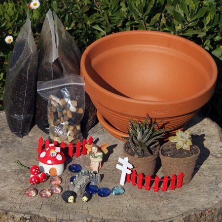 fairy garden kitset nz