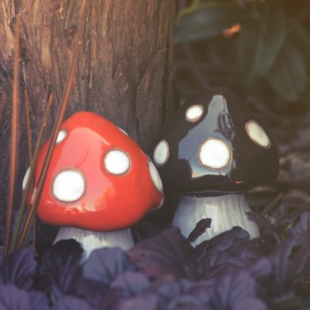 toadstool garden ornaments