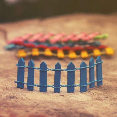 miniature fences
