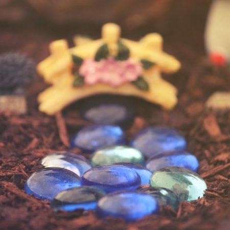 blue fairy stones
