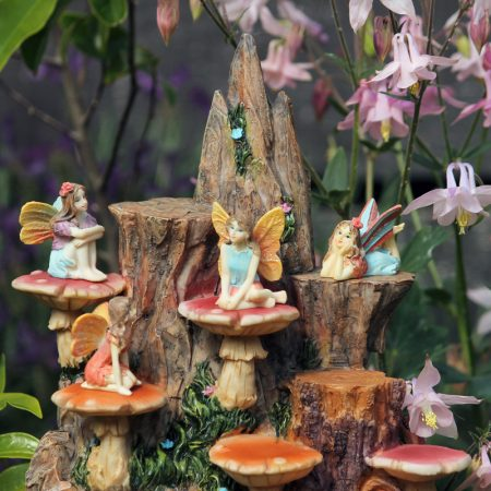 fairies and toadstools