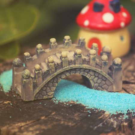 miniature stone bridge