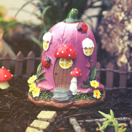 flower fairy house