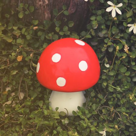 fairy toadstool ornament