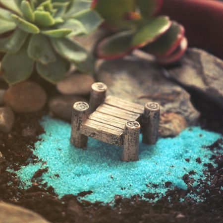 miniature jetty bridge brown