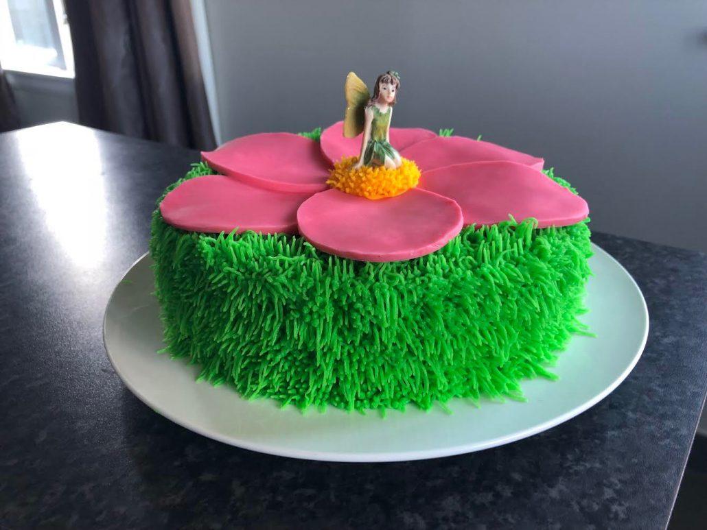 fairy garden cake topper
