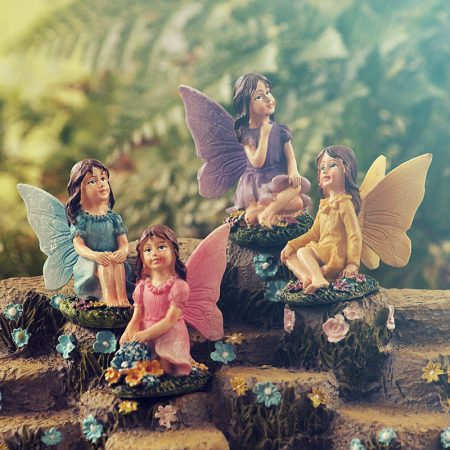 miniature resin fairies