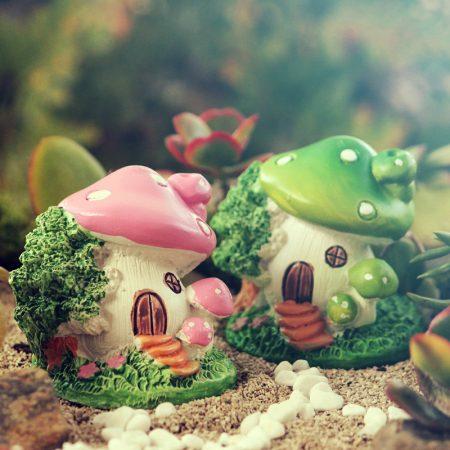 funky mushroom houses