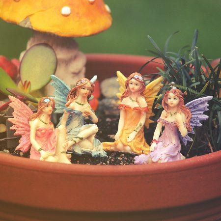 miniature garden fairies