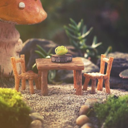 miniature table chairs