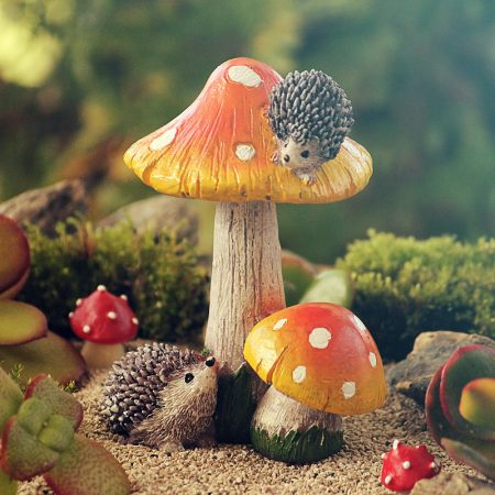 miniature toadstool hedgehogs