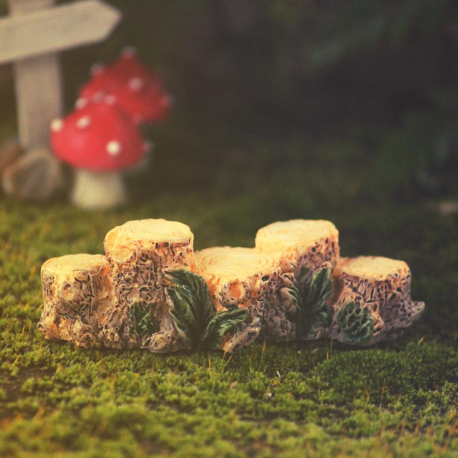 Tree Stump Bridge - Garden Fairy Creations
