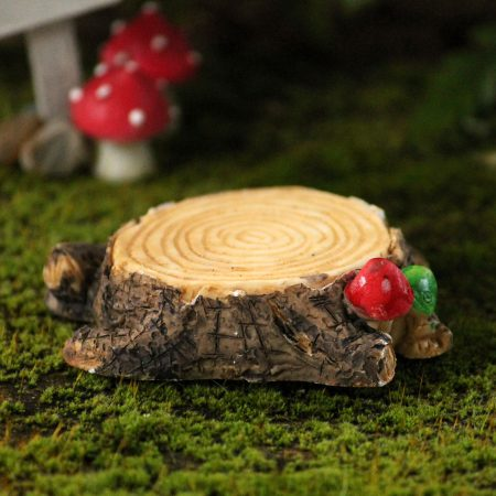 resin tree stump