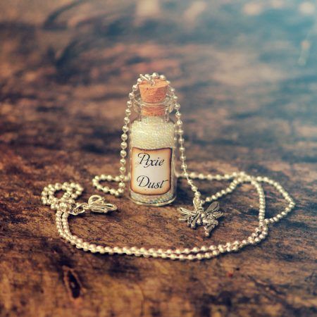 pixie dust necklace