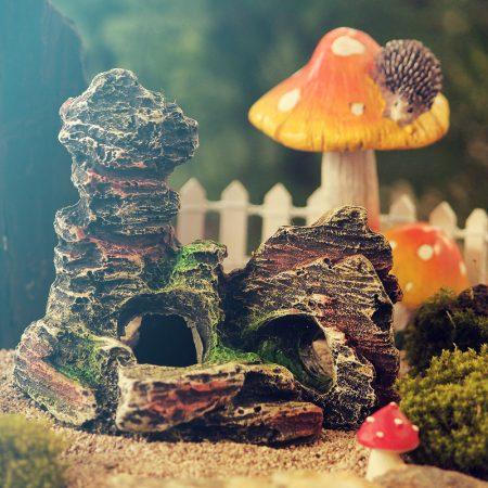 fairy garden landscaping rock