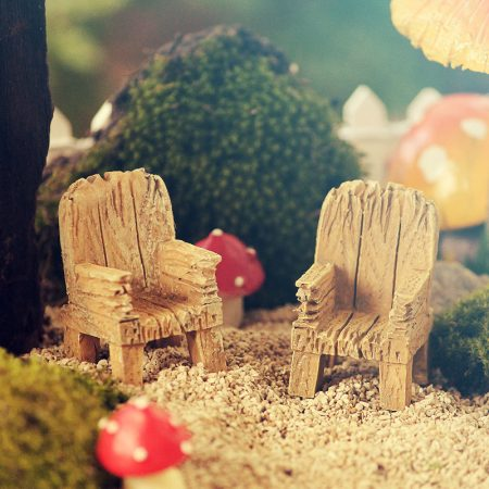 rustic fairy chair