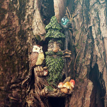pine tree man