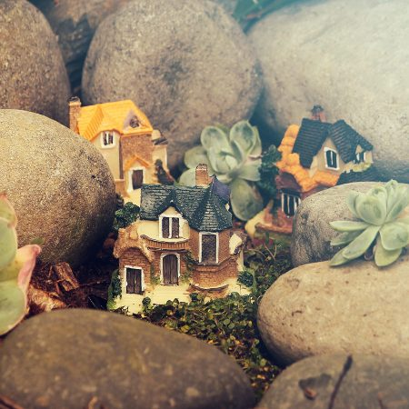 fairy garden cottages