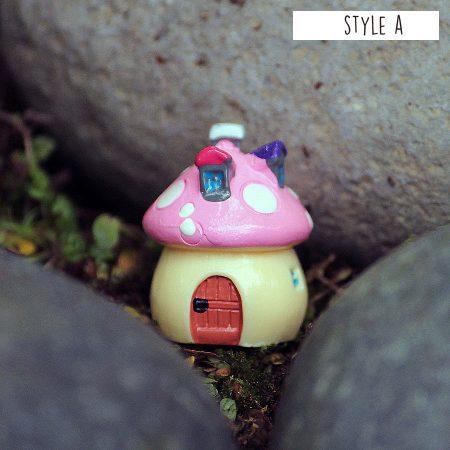 3cm Mushroom House Style A