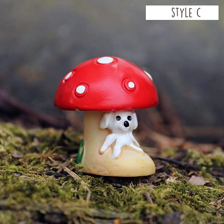 3cm Mushroom House Style C