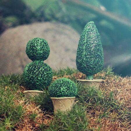 fairy garden topiary