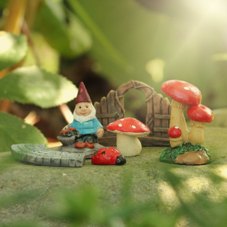 fairy garden figurine set