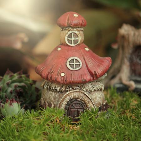 fairy mushroom hosue
